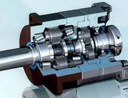 3-Coaxial-Helical-Inline-Gearbox