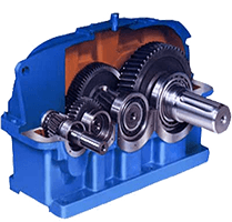 4-Bevel-Helical-Gearbox